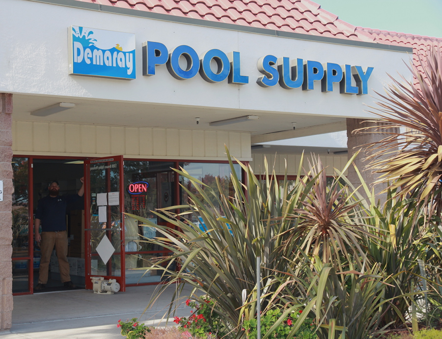 Pool supply products demaray pool supply for Pool builders yuba city ca